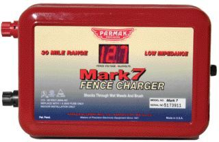 Parker McCrory/Baygard -  Parmak Mark8 Multipower Fence Charger  - Red - 30 Mile