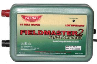 Parker McCrory/Baygard -  Parmak Fieldmaster3 Fence Charger  - Green - 15 Mile
