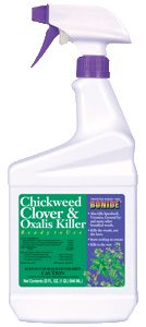 Bonide Products - Chickweed Clover Oxalis Killer - 1 Quart