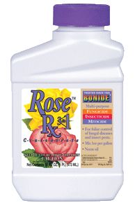 Bonide Products - Rose Rx 3 In 1 Neem Oil Concentrate - Pint
