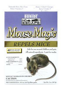 Bonide Products - Mouse Magic Mouse Repellent - 4 Pack