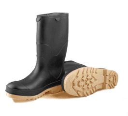 Tingley Rubber - Stormtracks Youths 100% Waterproof Pvc Boots - Black - Size 8