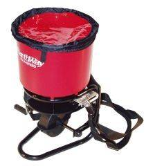 Earthway - Commercial Hand Crank Spreader - Red - 40 Lb Hopper