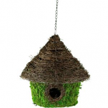 Syndicate Sales - Birdhouse Round - Grn - 10 In