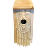 Welliver Outdoors - Welliver Carved Bluebird House Owl - Natural -