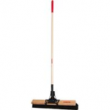 The Ames Company - Rough Surface Broom - Red - 24In