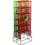 Panacea Products - A Frame Trellis Display - Red & Green - 20 Pc
