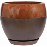 Southern Patio - Clayworks Kendell Egg Planter - Cppr - 8 In