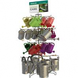 Panacea Products - Top Watering Can Loaded Display - Assorted - 40 Piece