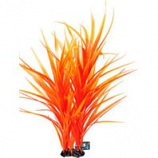 Poppy Pet - Freestanding Aquarium Plant - Orange - 16 Inch