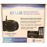 Current USA - Eflux Wave Pump Kit Loop Compatible - Black - 1050 Gph