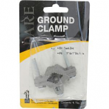 Dare Products - Ground Rod Clamp - Silver - 6 X 4 Inch - Silver - 6 X 4 Inch