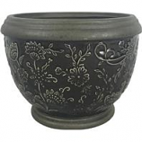 Southern Patio - Gracie Planter - Gray - 8 In