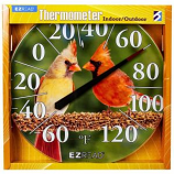 Headwind Consumer - Ezread Dial Thermometer - Cardinal - 12.5 In