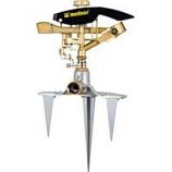 Melnor - Heavy Duty Triple Spike Pulsating Sprinkler -