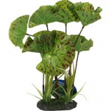 Blue Ribbon Pet Products - Tropical Gardens Lotus Plant - Green - Small