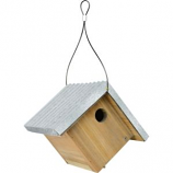 Natures Way Bird Prdts - Nature'S Way Wren House - Weathered Galva - 8.25X7.25X7.25