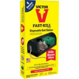 Woodstream Victor Rodnt - Disposable Mouse Bait Station - 2 Pack