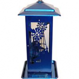 Apollo Investment Holding - Homestead Windmill Seed Feeder - Blue - 5 Lb