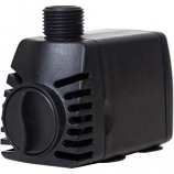 Oase - Living Water - Pondboss Fountain Pump - Black - 320 Gph