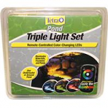 Tetra Pond - Triple Light Set W/Remote -