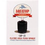 Aquatop Aquatic Supplies - Classic Aqua Flow Sponge Aquarium Filter - Up To 25 Gallon