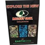 Earth Edge - Mossy Oak Camo Pad Display - Camo - 30 Piece