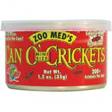 Zoo Med - Can O' Crickets Mini Size - 1.2 Ounce
