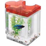 Aqueon Products - Glass - Betta Puzzle Kit - Red - .5 Gallon