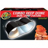 Zoo Med - Combo Deep Dome Dual Lamp Fixture -