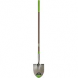 The Ames Company - Long Fiberglass Handle Round Point Shovel - 61 Inch