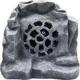 Alpine Corporation - Solar Bluetooth Enabled Rock Speaker - Gray - 11 Inch
