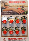Songbird Essentials - Hummer Ring Display - Red - 24 Piece