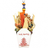 A&E Cage Company - Happy Beaks Chinese Take Out Toy - Multicolored