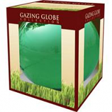 Alpine Corporation - Glass Gazing Globe - Green - 10 Inch