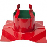 Hookery - Santa'S Solution Supreme Tree Stand - Red - 7-11 Feet