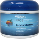 Aqueon Products - Supplies - Aqueon Pro Herbivore Pellet Fish Food - Herbivore - 4.8 Oz