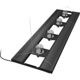 Aquatic Life - T5Ho Hybrid Light Fixture 4 Lamp - Black - 61 Inch