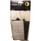 Aquatop Aquatic Supplies - Forza Replacement Filter With Activated Carbon - Black - 25 Gallon