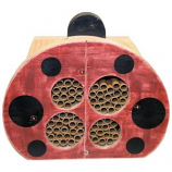 Welliver Outdoors - Welliver Mason Bee Ladybug House - Red & Black