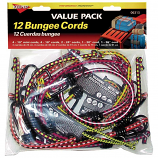 Hampton Products - Bungee Cord Multi Pack - Assorted - 12 Piece