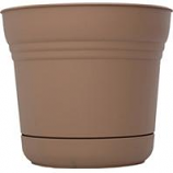 Bloem  - Saturn Planter - Chocolate - 10 Inch