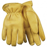 Kinco International - Lined Grain Deerskin Glove - Tan - Extra Large
