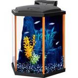 Aqueon Products - Glass - Aqueon Neoglow Aquarium Kit Hexagon - Orange - 8 Gallon