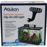 Aqueon Products - Glass - Aqueon Led Clip - On Freshwater Fixture -