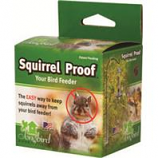 Songbird Essentials - Squirrel Proof Spring 2 - Silver - 48X3X3