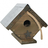 Audubon/Woodlink - Rustic Farmhouse Wren House - Natural