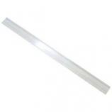 Aqueon Products - Glass - Aquarium Backstrip Replacement Parts - Clear/Black - 3/16In X 6 Foot