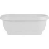 Bloem - Deckrail Planter - White - 24 Inch