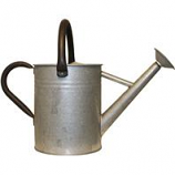 Panacea Products - Aged Galvanized Watering Can - Galvanized - 1 Gallon